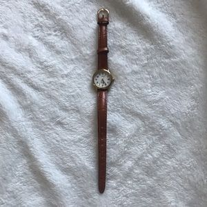 Leather Watch by Timex